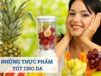 03 loại thực phẩm tốt cho da khoẻ mạnh
